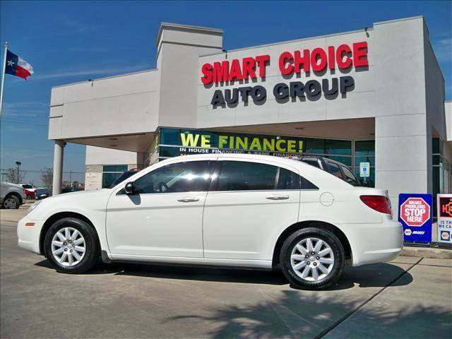 2008 CHRYSLER SEBRING LX white abs brakesair conditioningamfm radioautomatic headlightscd pl