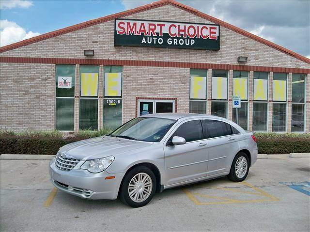 2008 CHRYSLER SEBRING SEDAN TOURING FWD silver options abs brakesair conditioningalloy wheelsam
