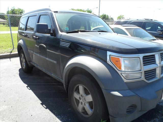 2007 DODGE NITRO SXT 4DR SUV black april showers bring may flowers right now with 350 down with