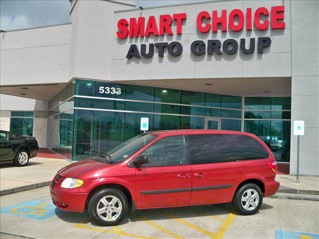 2005 DODGE CARAVAN SXT red options air conditioningalloy wheelsamfm radioautomatic headlightsca