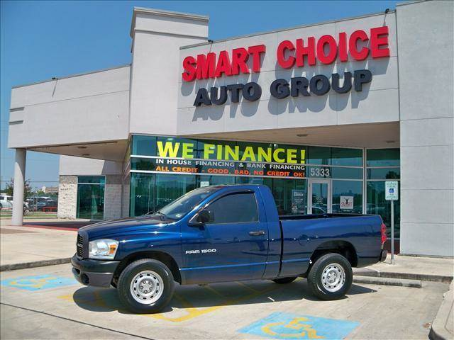 2007 DODGE RAM PICKUP 1500 2WD REGULAR CAB ST blue options abs brakesair conditioningalloy wheel