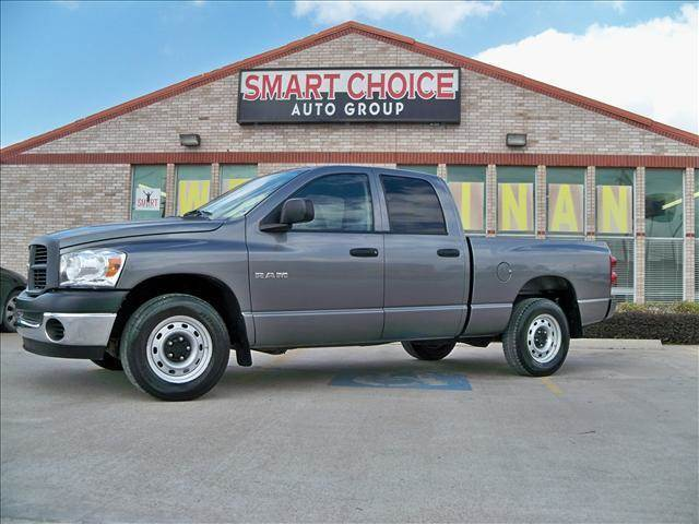 2008 DODGE RAM PICKUP 1500 ST SLT SXT LARAMIE grey abs brakesair conditioningamfm radioaut