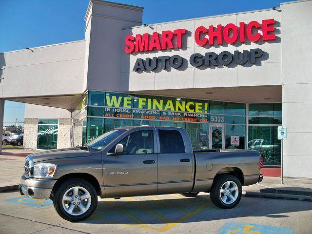 2007 DODGE RAM PICKUP 1500 2WD QUAD CAB light khaki metallic options abs brakesair conditioninga