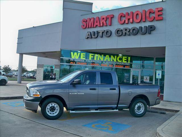 2011 DODGE RAM PICKUP 1500 2WD QUAD CAB 63 FT BOX ST grey options abs brakesair conditioningall