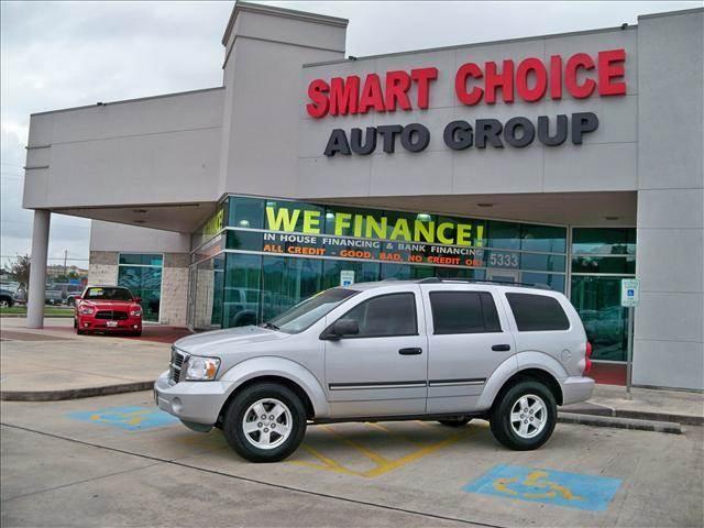 2007 DODGE DURANGO 2WD SLT bright silver metallic options abs brakesair conditioningalloy wheels