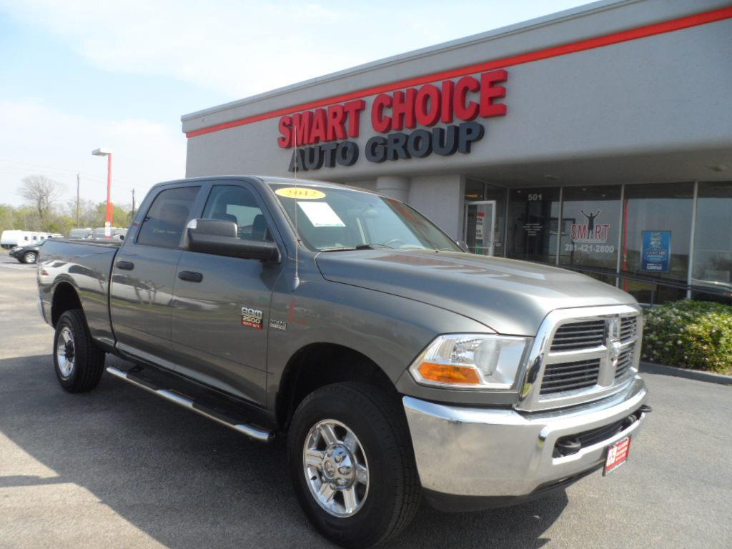 2012 RAM RAM PICKUP 2500 ST 4X4 CREW 64FT gray laporte mitsubishi w in-house advantage also can