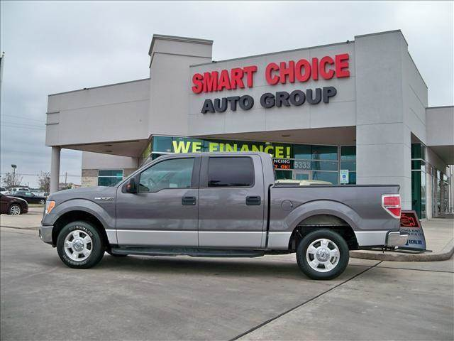 2010 FORD F-150 XL PLATINUM XLT FX2 LARIAT grey abs brakesadjustable foot pedalsair condit