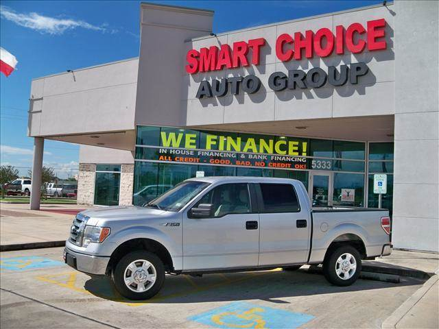 2010 FORD F-150 2WD SUPERCREW ingot silver options abs brakesair conditioningalloy wheelsamfm r