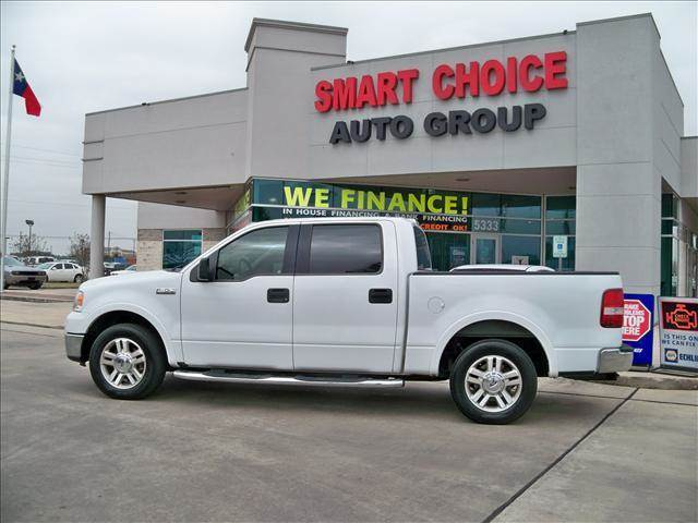 2006 FORD F-150 XLT LARIAT KING RANCH white abs brakesair conditioningamfm radioautomatic h