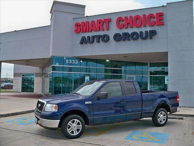 2007 FORD F-150 2WD SUPERCAB dark blue pearl metallic options abs brakesair conditioningalloy wh
