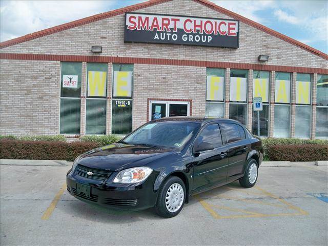 2008 CHEVROLET COBALT SEDAN LS black options automatic 22l 4 cylinder engine front wheel driv