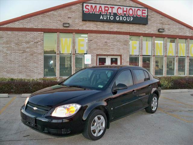 2008 CHEVROLET COBALT SEDAN LS black options air conditioningamfm radioautomatic headlightscd p