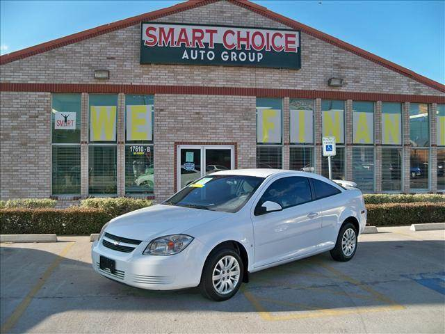 2009 CHEVROLET COBALT COUPE LT summit white options abs brakesair conditioningalloy wheelsamfm