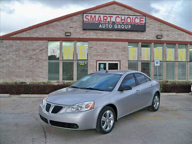 2008 PONTIAC G6 SEDAN GT liquid silver metallic options abs brakesair conditioningalloy wheelsam