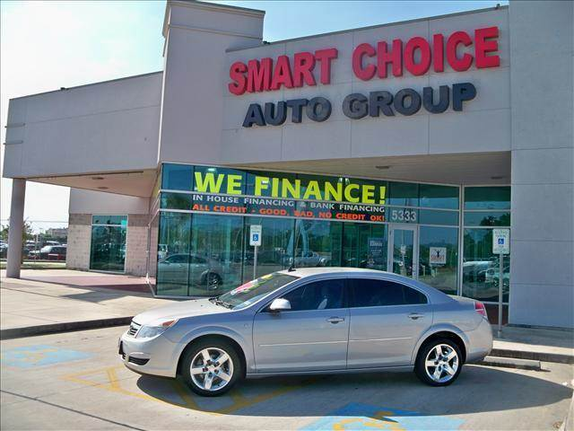 2008 SATURN AURA SEDAN XE silver pearl options abs brakesair conditioningamfm radioautomatic he