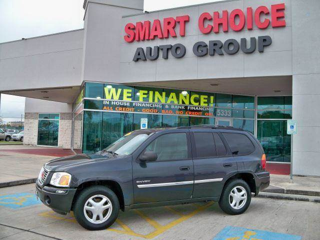 2006 GMC ENVOY 4WD onyx black options 4wdawdabs brakesair conditioningalloy wheelsamfm radioau