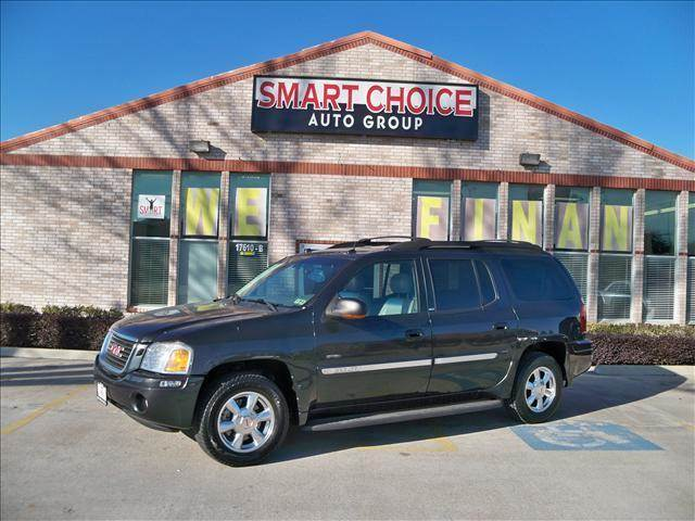 2005 GMC ENVOY XL SLE SLT grey abs brakesair conditioningalloy wheelsamfm radioautomatic he