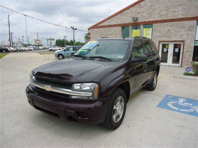 2008 CHEVROLET TRAILBLAZER LT SUV black granite metallic this 2008 chevrolet trailblazer 4dr lt s