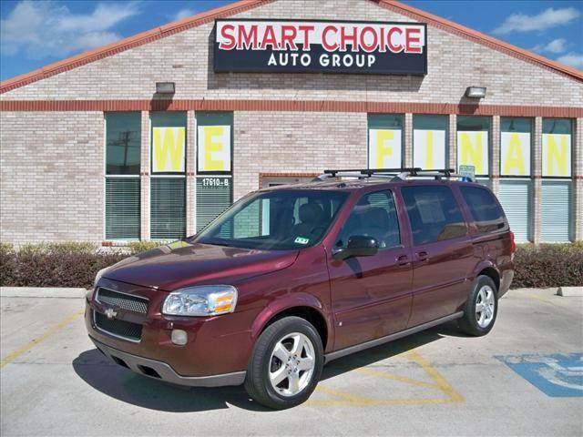 2007 CHEVROLET UPLANDER EXT WB LT bordeaux red metallic options abs brakesair conditioningalloy