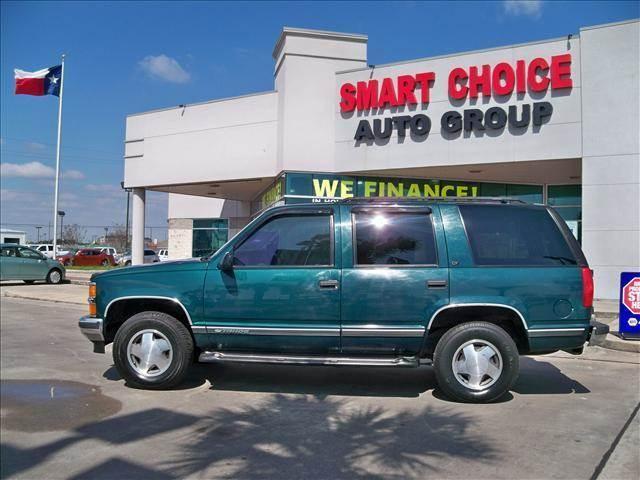 1999 CHEVROLET TAHOE BASE LS LT green 4wdawdabs brakesair conditioningalloy wheelsamfm ra