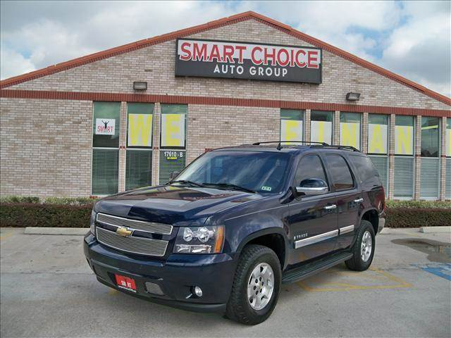 2008 CHEVROLET TAHOE 2WD 1500 blue options abs brakesair conditioningalloy wheelsamfm radioauto
