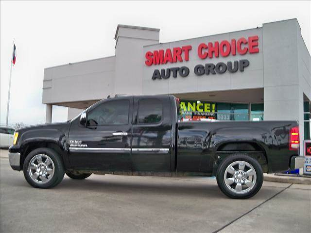 2010 GMC SIERRA 1500 SLE black abs brakesair conditioningamfm radioautomatic headlightscd pl