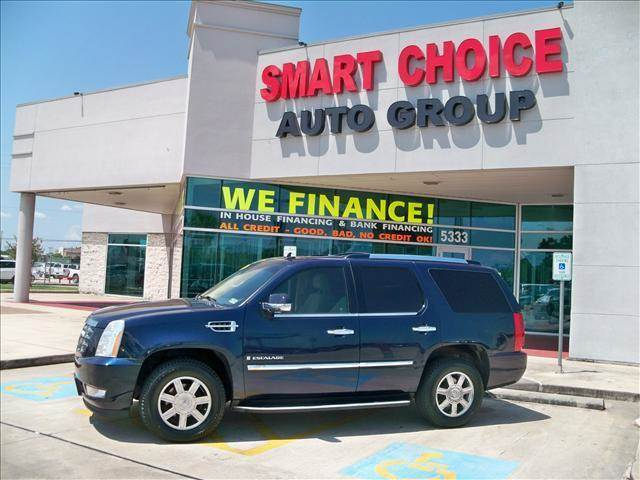 2008 CADILLAC ESCALADE 2WD blue chip options abs brakesadjustable foot pedalsair conditioningall