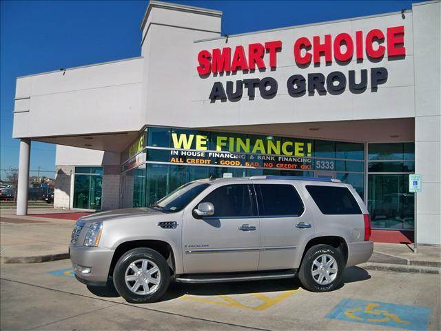 2008 CADILLAC ESCALADE BASE silver abs brakesadjustable foot pedalsair conditioningalloy wheel