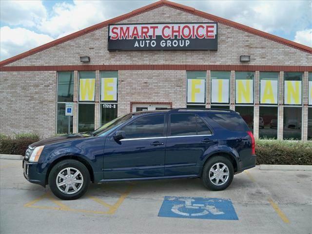 2004 CADILLAC SRX V6 SUV blue options abs brakesair conditioningalloy wheelsamfm radioautomatic