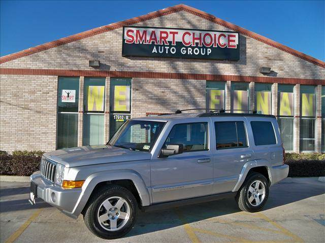 2010 JEEP COMMANDER SPORT silver 4wdawdabs brakesair conditioningalloy wheelsamfm radiocar