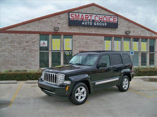 2008 JEEP LIBERTY RWD 4DR LIMITED bright silver metallic 37l dohc v6 engine 4-speed automatic t