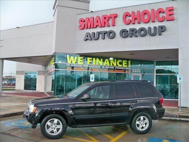 2007 JEEP GRAND CHEROKEE 2WD LAREDO black options abs brakesair conditioningalloy wheelsamfm ra