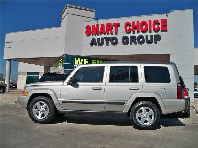 2008 JEEP COMMANDER SPORT silver abs brakesair conditioningalloy wheelsamfm radiocargo area