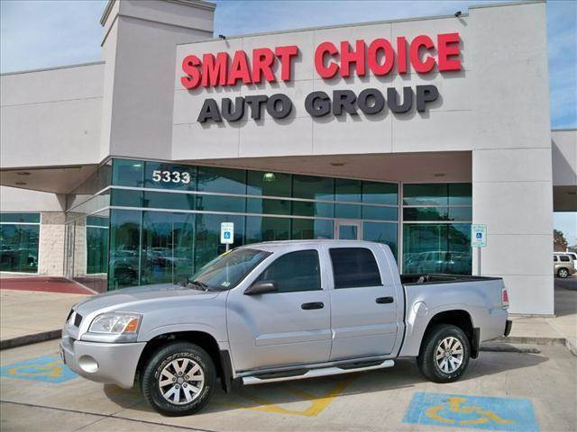 2007 MITSUBISHI RAIDER 2WD DOUBLE CAB V6 AUTOMATIC LS alloy silver options abs brakesair conditi