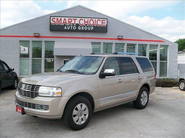 2007 LINCOLN NAVIGATOR tan abs brakesadjustable foot pedalsair conditioningalloy wheelsamfm