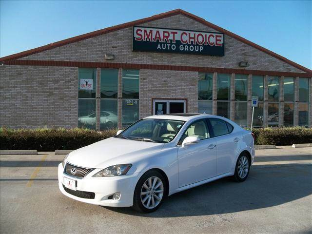 2009 LEXUS IS 250 UNSPECIFIED white 85950 miles VIN JTHBK262595089697