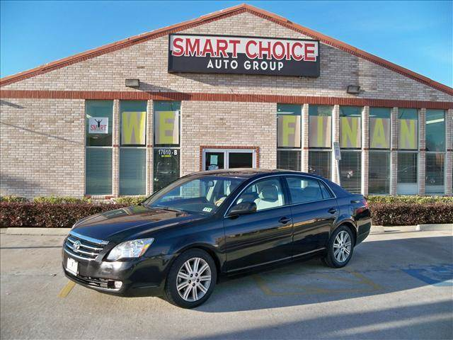 2007 TOYOTA AVALON XL LIMITED TOURING XLS black 124260 miles VIN 4T1BK36B77U192741