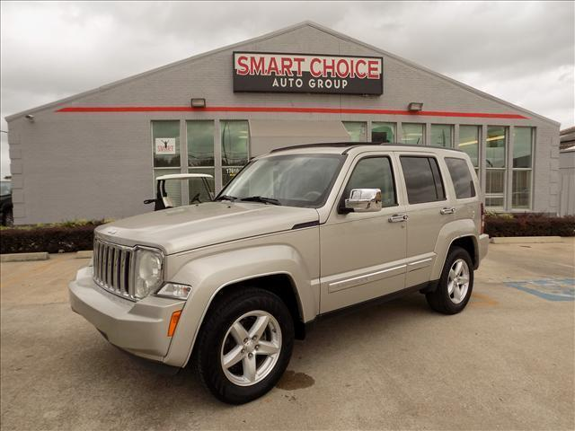 2008 JEEP LIBERTY LIMITED 4X2 4DR SUV silver body side moldings - chromegrille color - chromefl