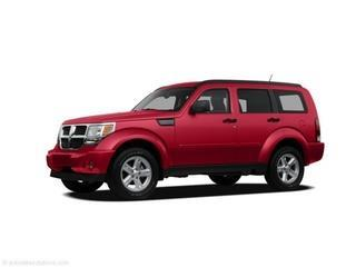 2008 DODGE NITRO SXT 4DR SUV inferno red crystal pearlcoat laporte mitsubishi w in-house advanta