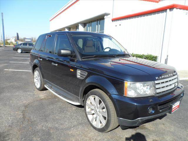 2008 LAND ROVER RANGE ROVER SPORT blue thank you very much for the opportunity to earn your busin