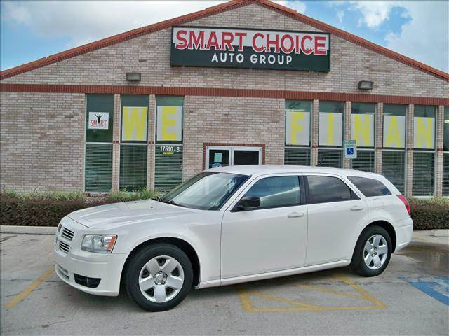 2008 DODGE MAGNUM WAGON SXT RWD stone white options abs brakesadjustable foot pedalsair conditio