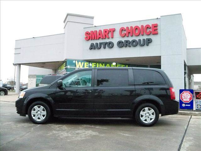 2010 DODGE GRAND CARAVAN SE black abs brakesair conditioningamfm radioautomatic headlightsca