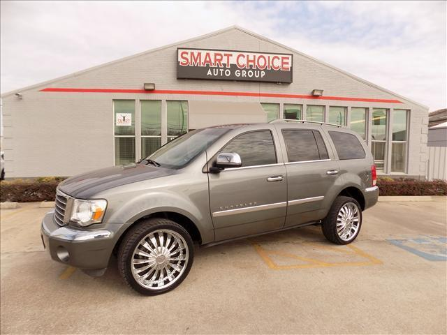 2007 CHRYSLER ASPEN LIMITED 4X2 4DR SUV gray cargo tie downscenter console trim - leatherdash t