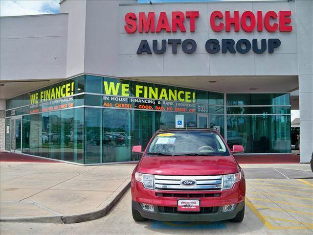 2007 FORD EDGE FWD SEL PLUS red options abs brakesair conditioningalloy wheelsamfm radioautomat