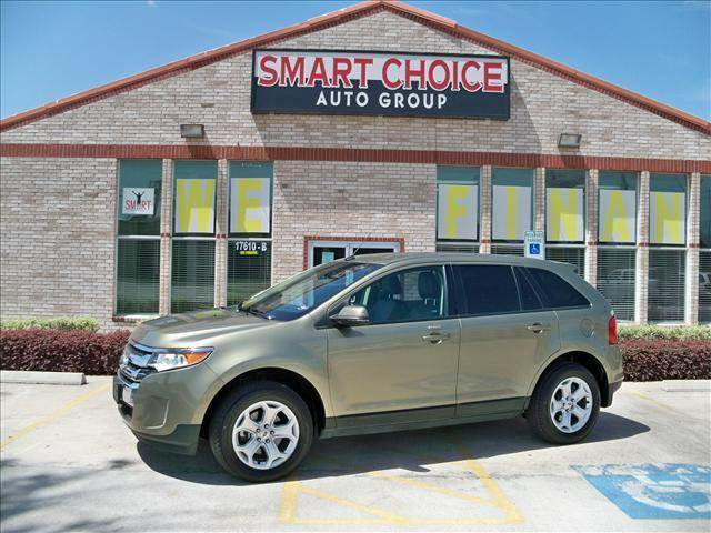 2012 FORD EDGE SEL AWD green options 4wdawdabs brakesair conditioningalloy wheelsamfm radioaut