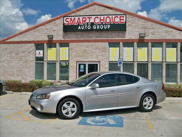 2008 PONTIAC GRAND PRIX SEDAN liquid silver metallic options air conditioningalloy wheelsamfm r