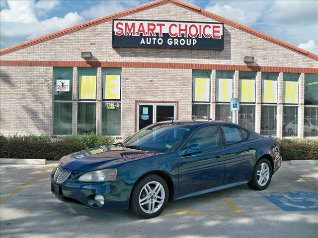 2005 PONTIAC GRAND PRIX SEDAN GTP blue-green crystal options abs brakesair conditioningalloy whe