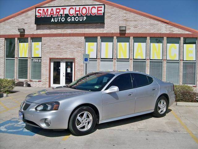 2004 PONTIAC GRAND PRIX SEDAN GT2 galaxy silver metallic options abs brakesair conditioningalloy