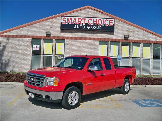 2007 GMC SIERRA 1500 2WD EXT CAB red options abs brakesair conditioningamfm radioautomatic head