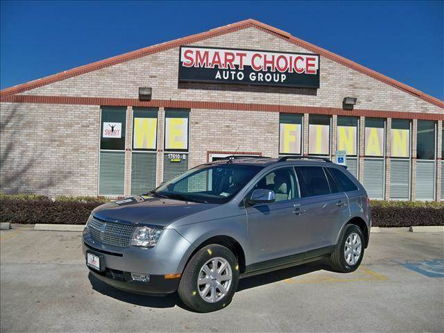 2007 LINCOLN MKX BASE grey abs brakesair conditioningalloy wheelsamfm radioautomatic headlig